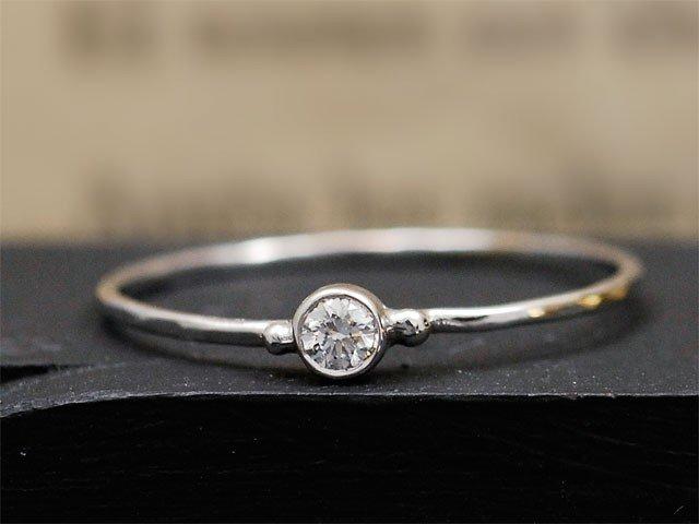 Bien-aimé baby-solitaire-diamant-bague-fine-fiancailles-emmanuelle-zysman  WS22
