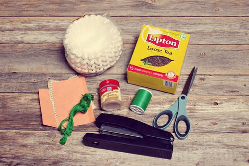 diy sachets de the