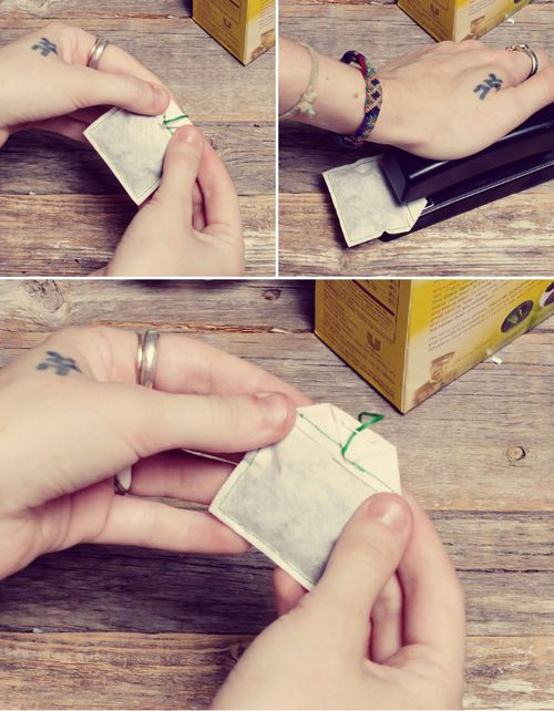 tutoriel creation sachet de the