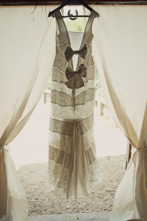robe de mariee dos nu deux noeuds