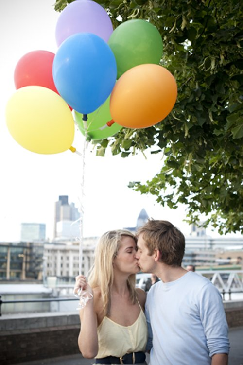seance engagement londres ballons