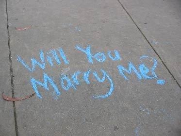 veux tu m'épouser?