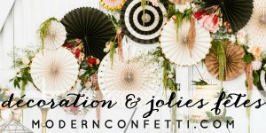 modern confetti / partenaire withalovelikethat