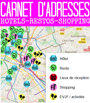 notre carnet d'adresses resto, hôtels, shopping, lieux de réceptions... par withalovelikethat.fr