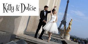 Kitty and dulcie robe de mariée pas chère