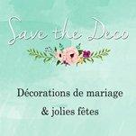 save the deco partenaire withalovelikethat / décoration mariage jolis fêtes