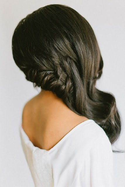 coiffure cote mariage cheveux long with a love like that blog lifestyle love. Black Bedroom Furniture Sets. Home Design Ideas