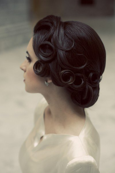 idee chignon retro mariee - With a love like that - Blog lifestyle & LOVE