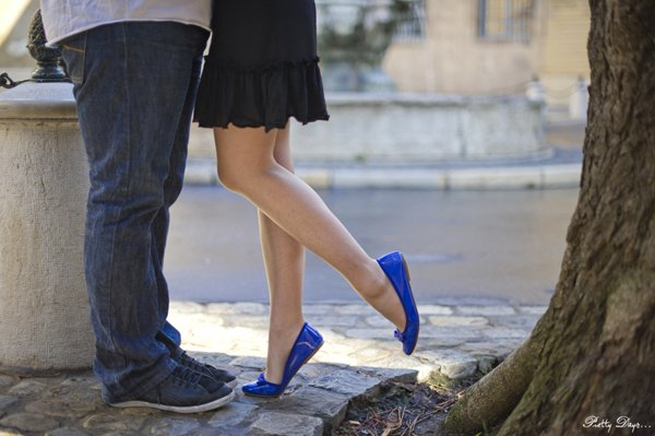 photos engagement pieds