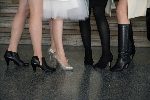 chaussures de mariage et témoins