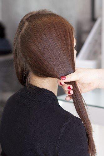 tutoriel couronne tressee cheveux long
