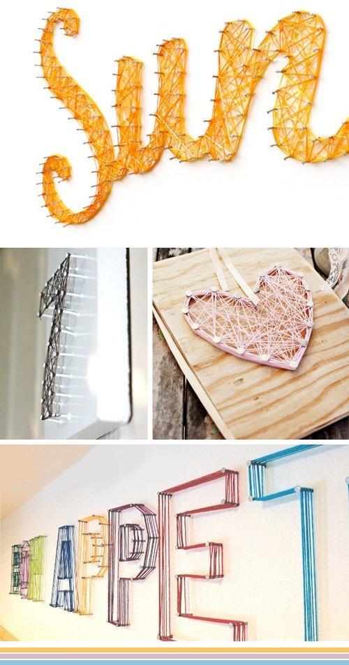 decoration mariage laine