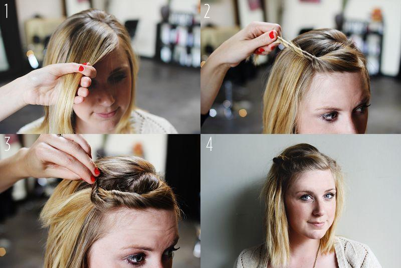 tutoriel cheveux courts
