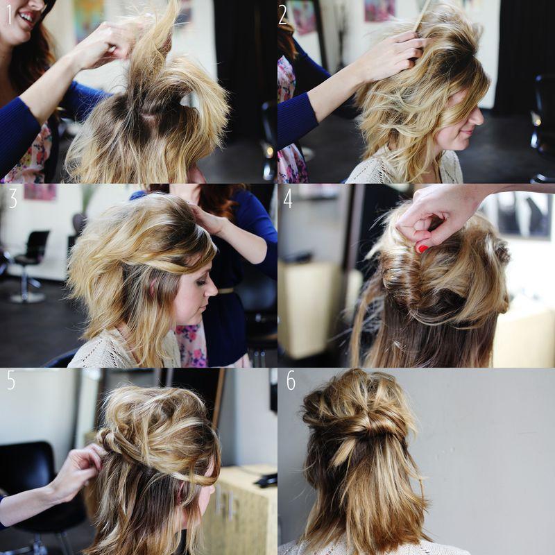 tutoriel cheveux courts bm1
