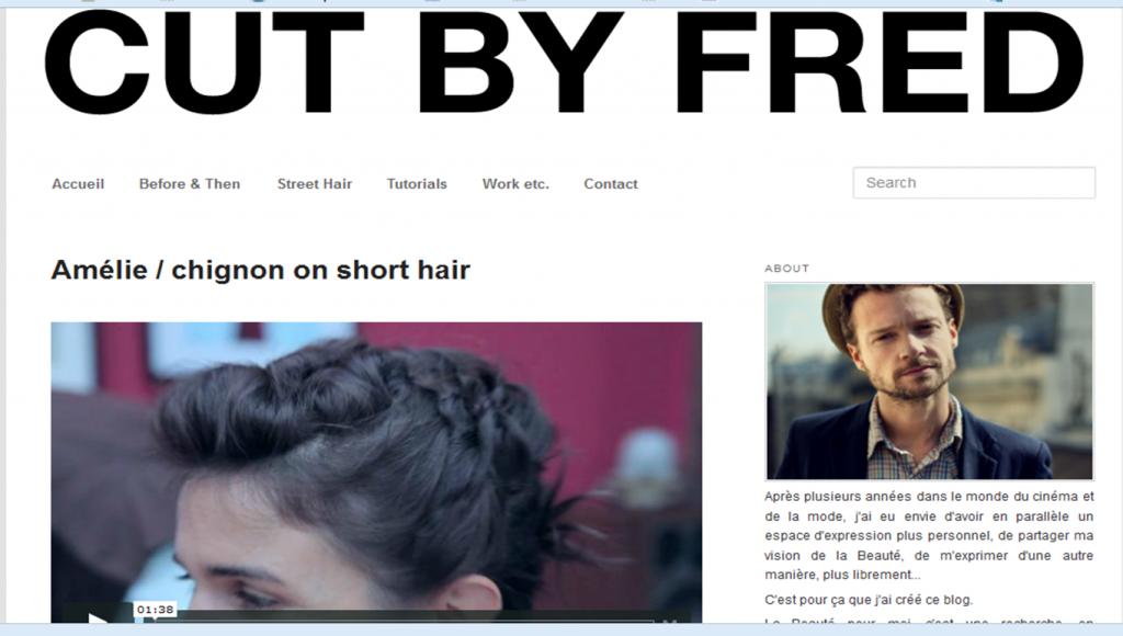 tutoriel coiffure cheveux courts