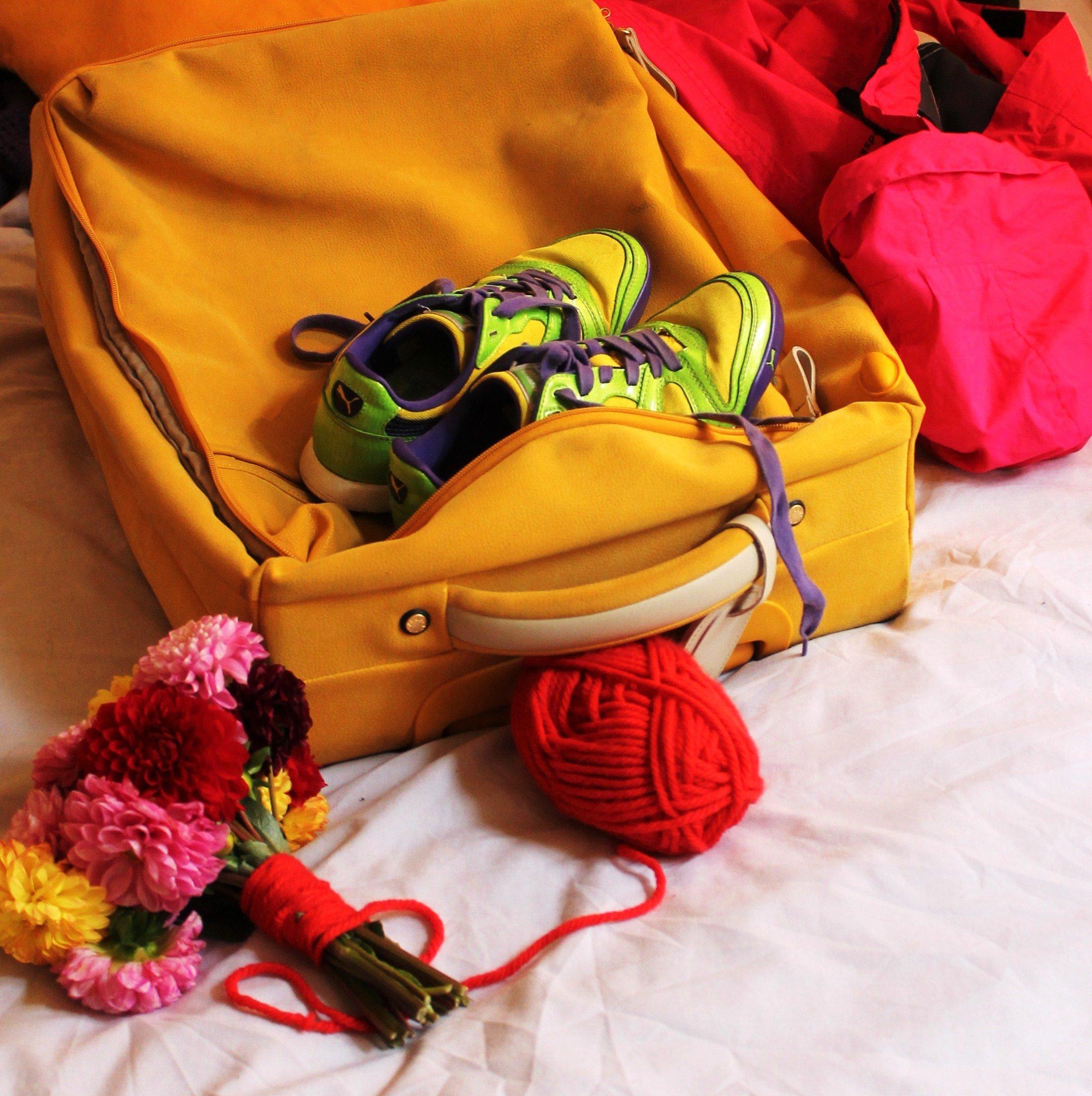 bouquet de mariee dahlia et laine