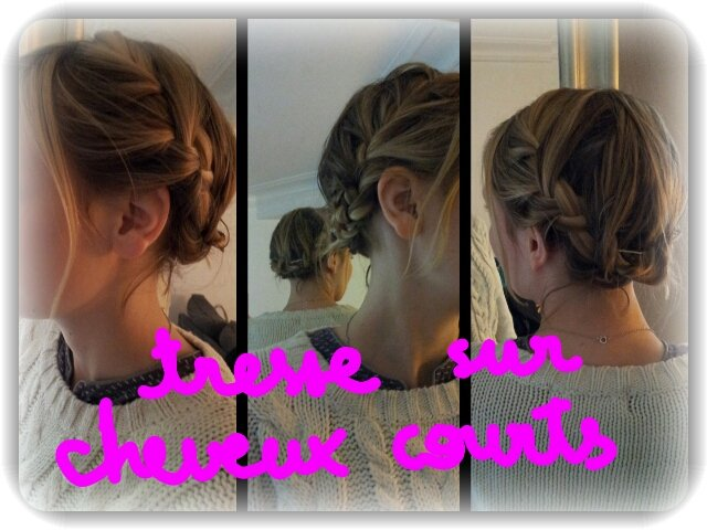 tutoriel coiffure cheveux courts archives with a love like that blog mariage. Black Bedroom Furniture Sets. Home Design Ideas