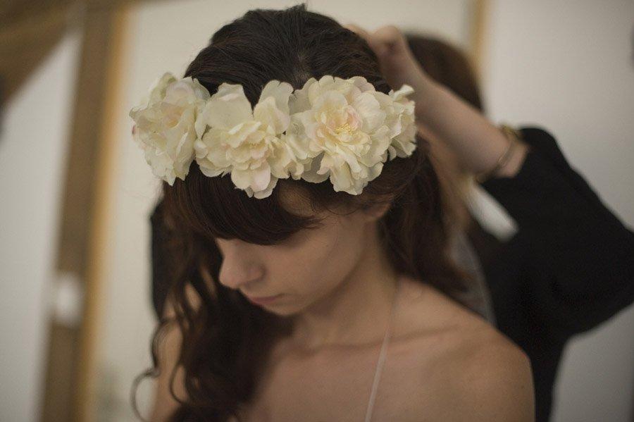 couronne de fleurs natachabird
