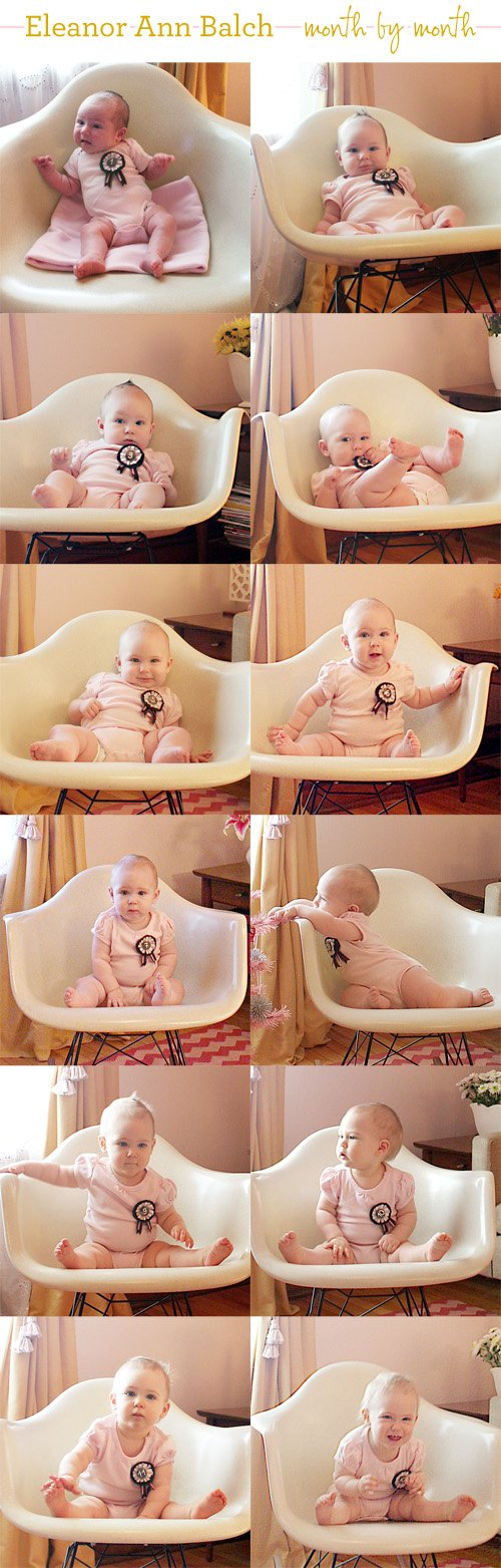 making it lovely baby month by month