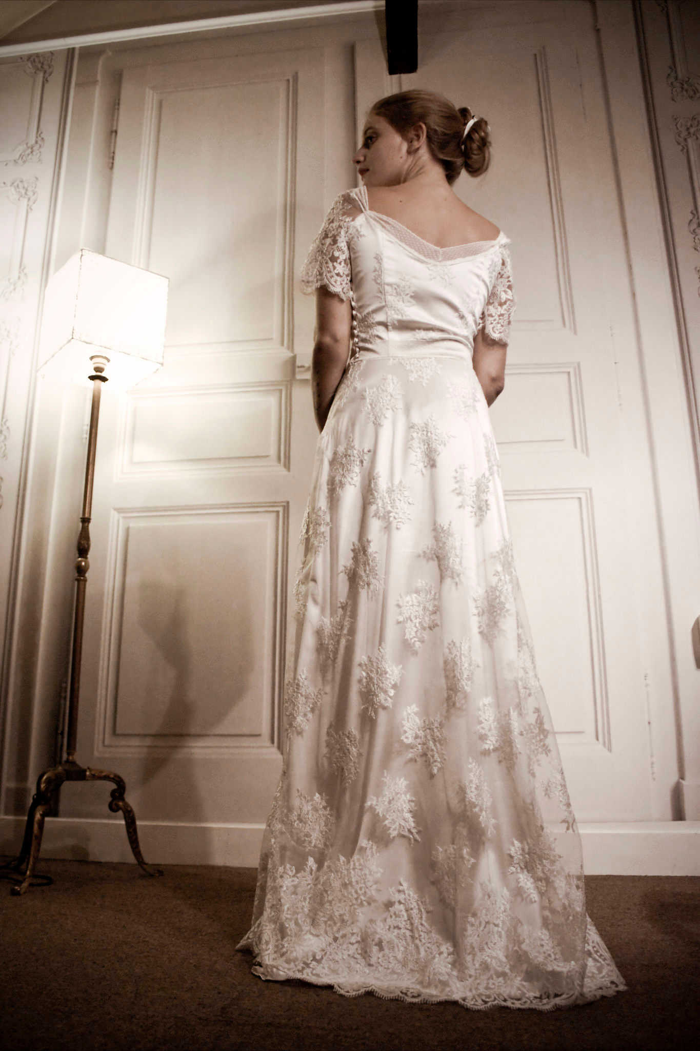 robe de mariee retro vintage stephanie wolff