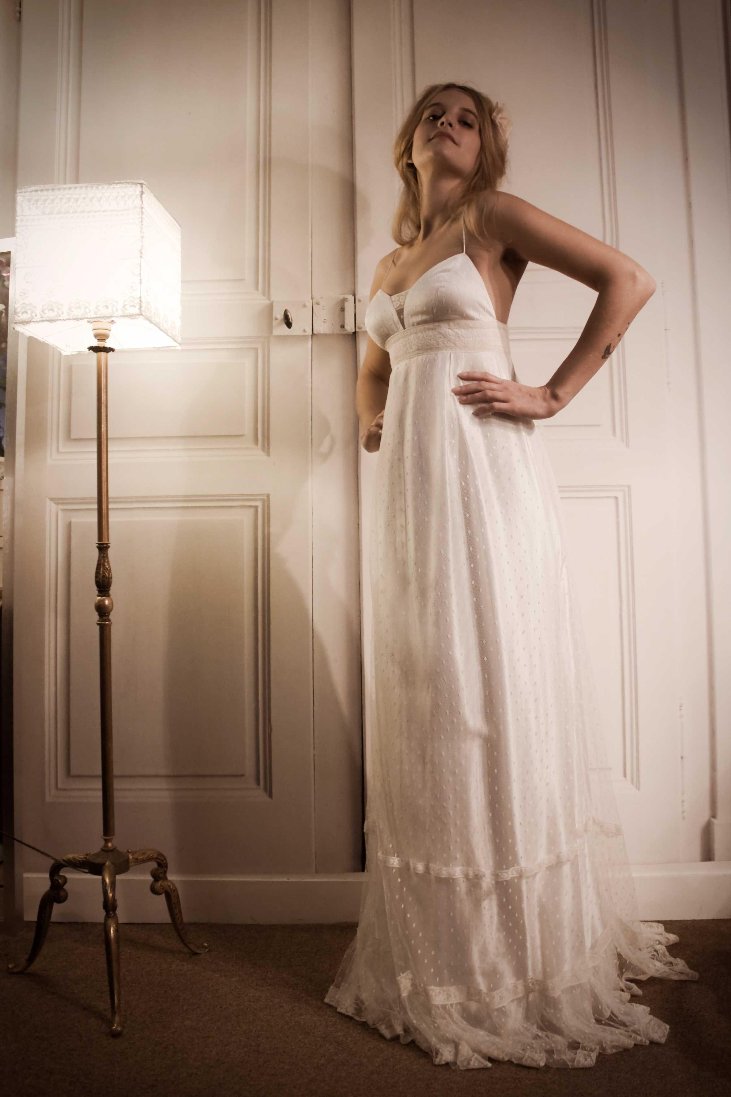 robe de mariee retro vintage