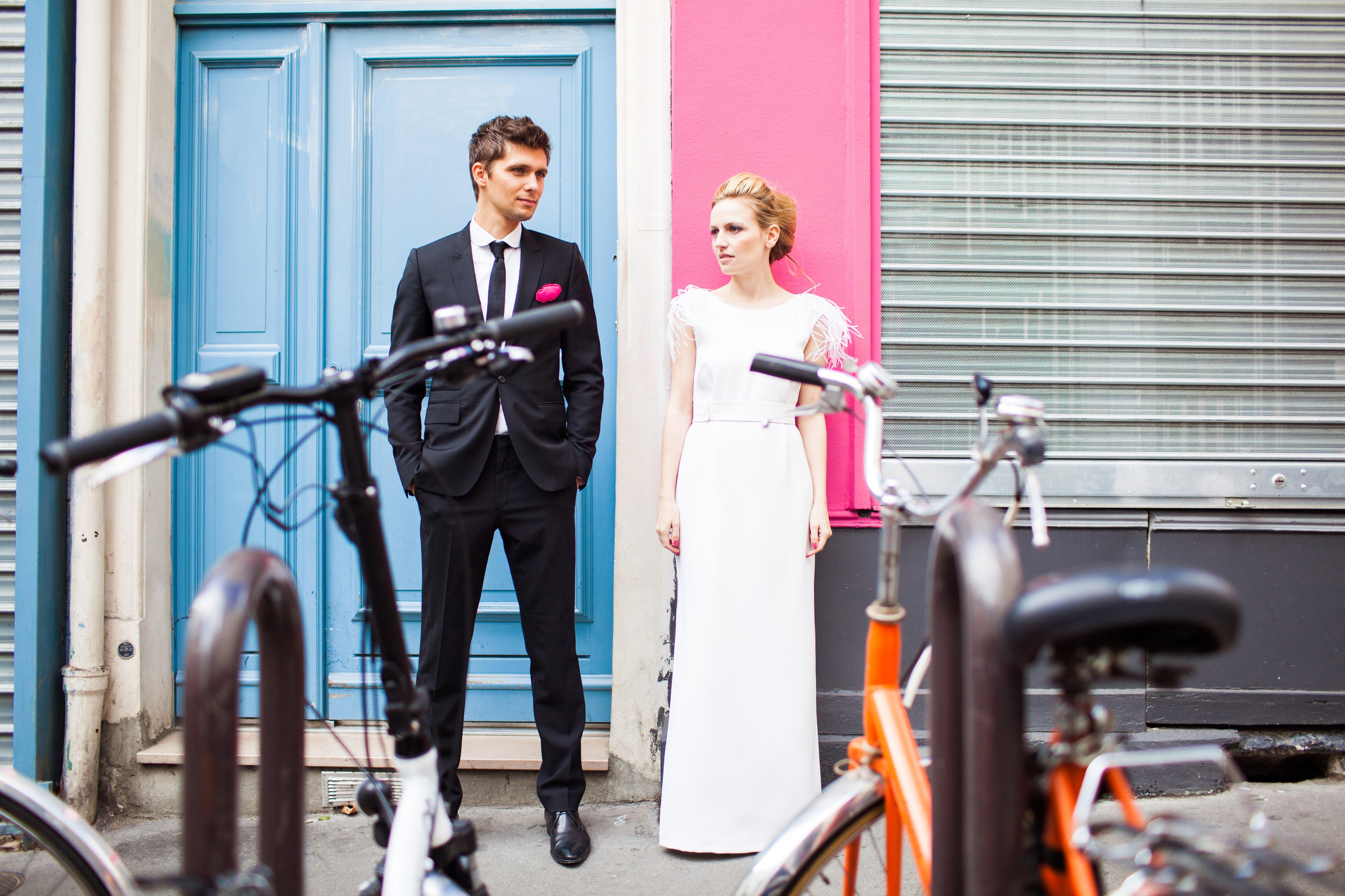 la création de ma robe de mariée sur mesure par … Laurent Kapelski