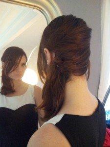tutoriel coiffe de côté