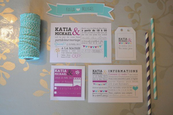 Faire Part Mariage Bleu Violet With A Love Like That Blog