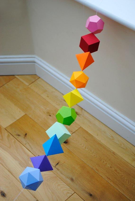 idee deco mariage geometrique