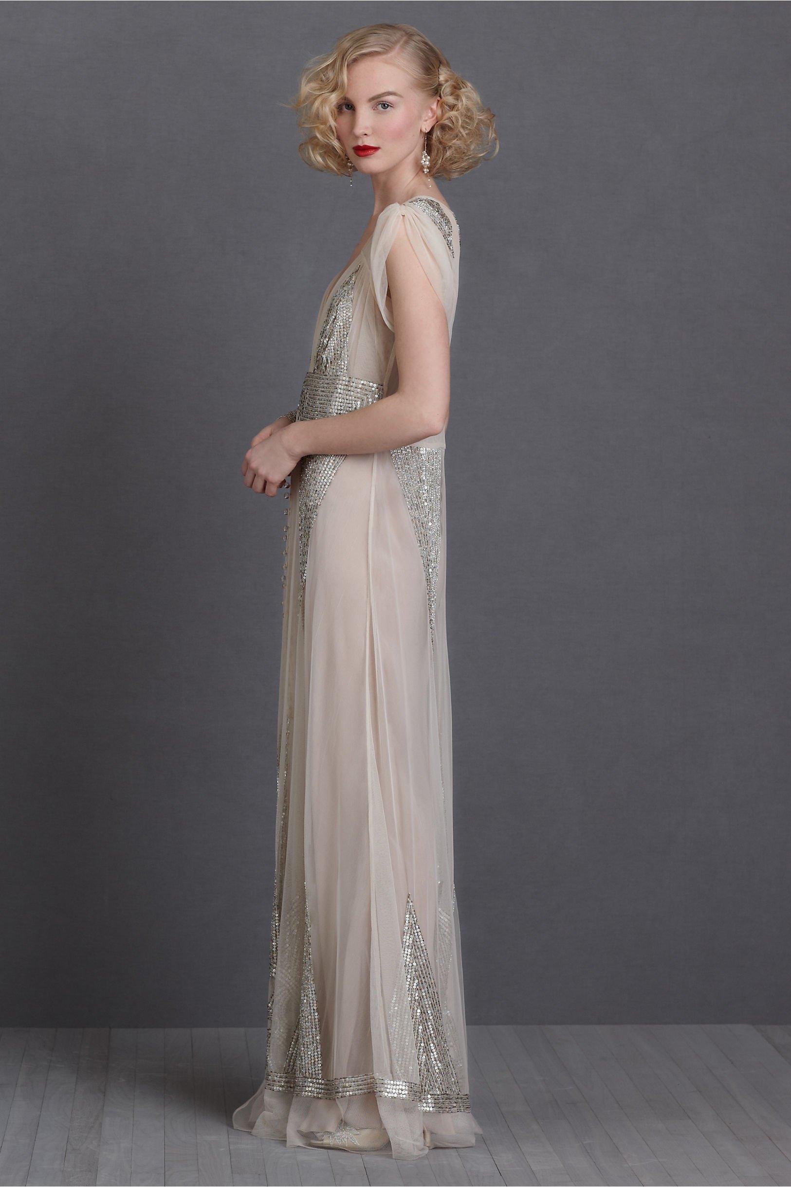 robe de mariee retro glitter