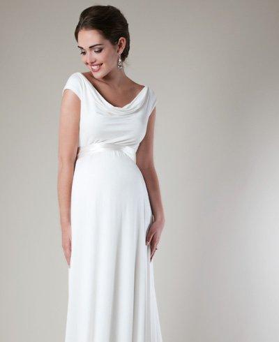 Robe de mariee et grossesse