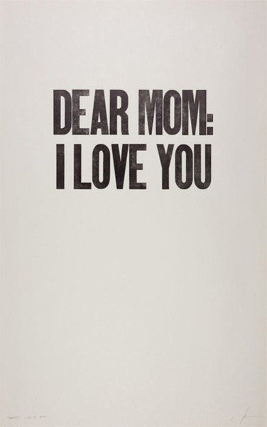 Dear Mum, I love you - With a love like that - Blog ...  Dear Mum, I lov...