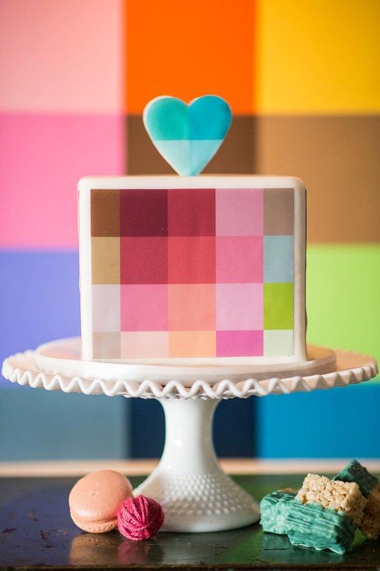 gateau-mariage-pixel