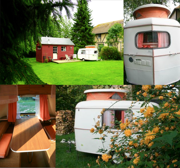 Kabane et caravane vintage with a love like that blog lifestyle love - Deco caravane interieur ...
