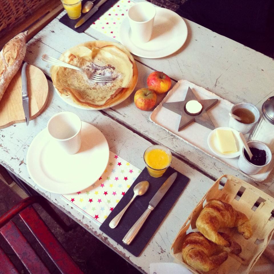 chambre d'hôte petit dejeuner