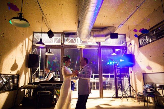danse mariée et son papa