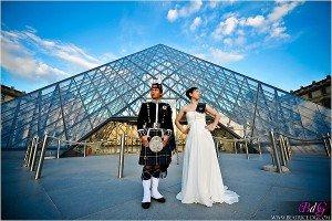 photo paris louvre couple