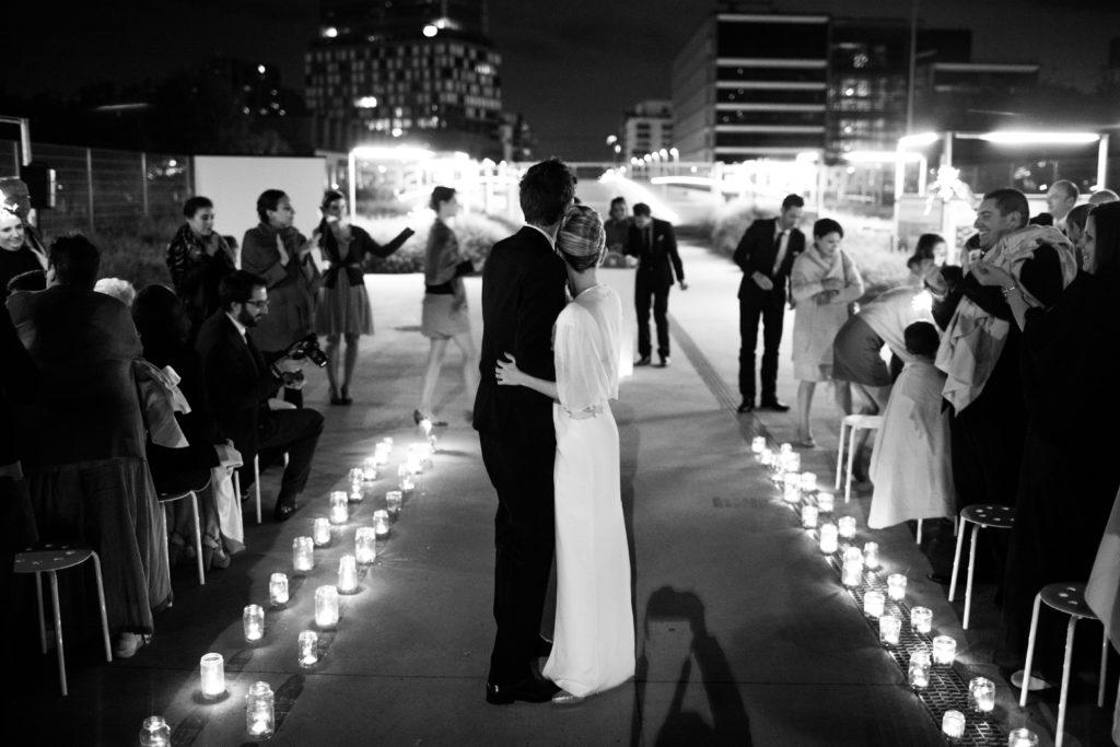 Mariage cérémonie de nuit / withalovelikethat.fr
