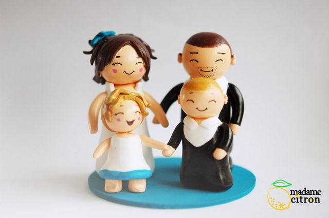 création cake topper personnalisé