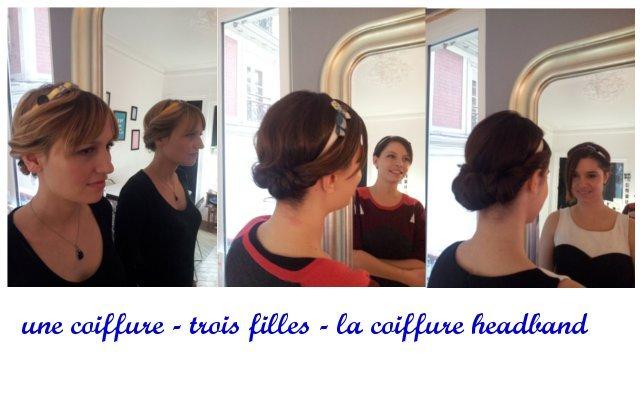 une coiffure trois filles le retour des tuto coiffure. Black Bedroom Furniture Sets. Home Design Ideas