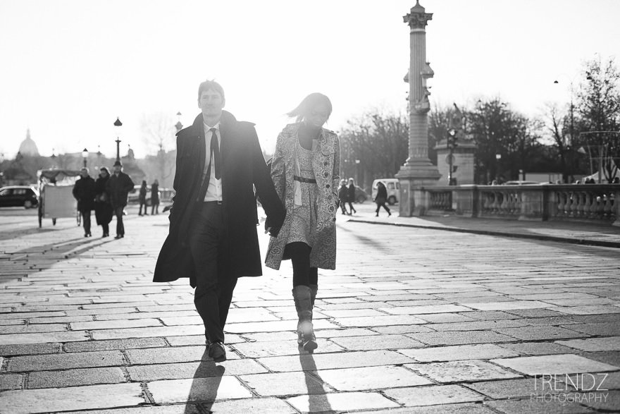 des new yorkais à paris seance photo - love photoshoot in paris