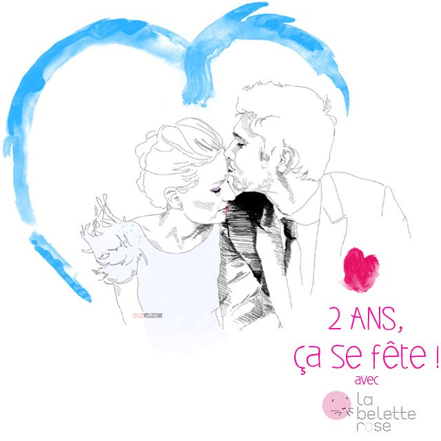 la belette rose et with a love like that