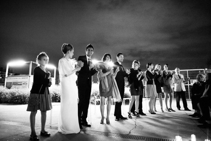 cérémonie de mariage de nuit with a love like that