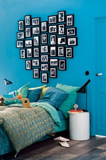 accrocher ses photos aux murs archives with a love like. Black Bedroom Furniture Sets. Home Design Ideas