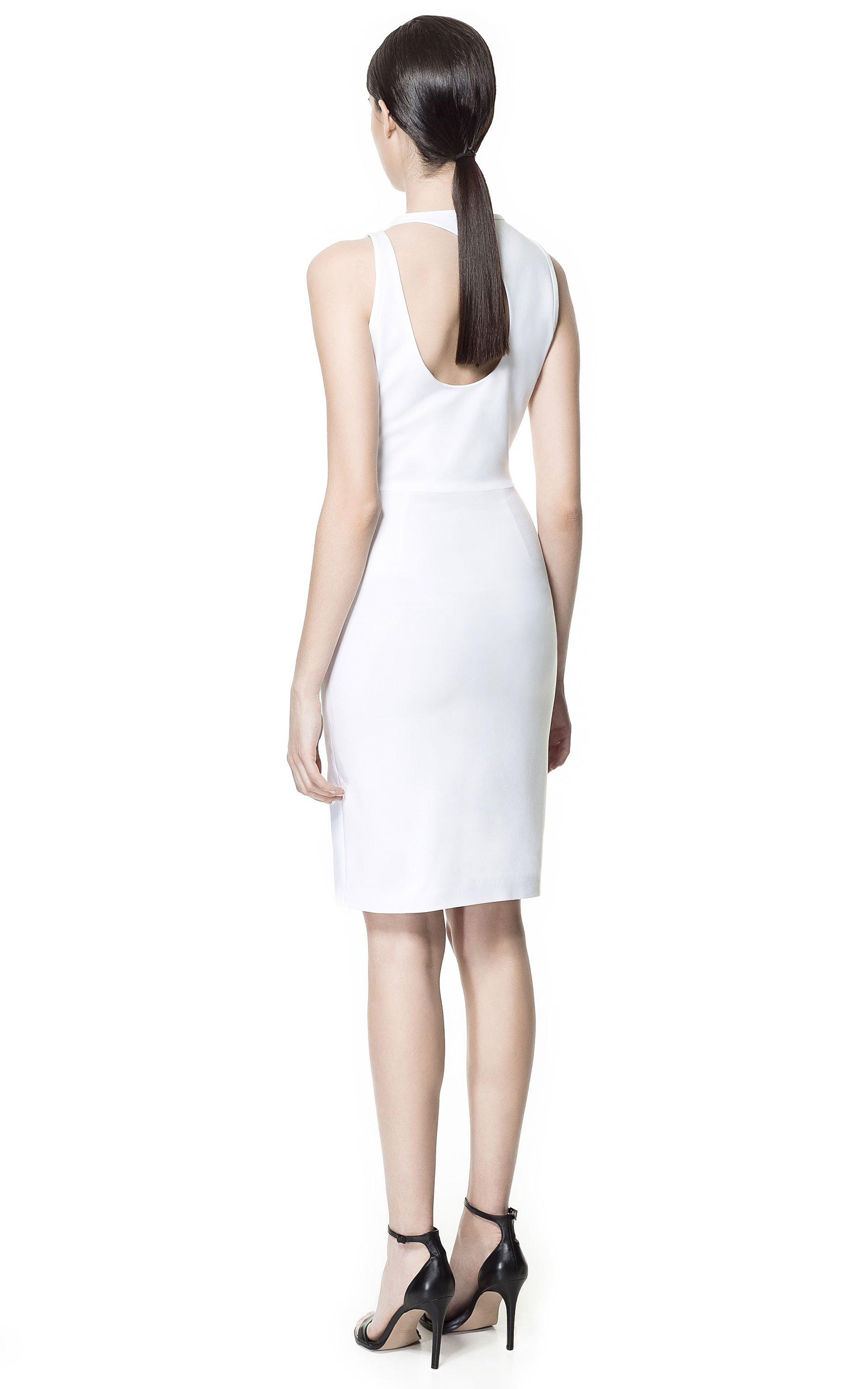 Robe blanche zara mariage