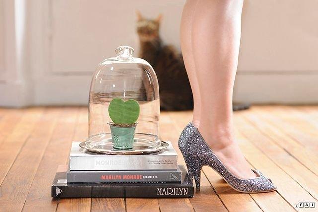 chaussures à paillettes Patricia Blanchet clodettes