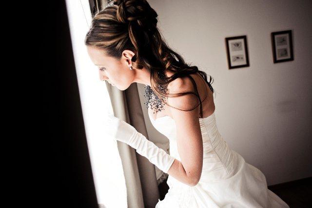 attente de la mariee