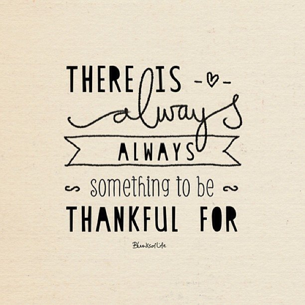 something-to-be-thankful-for