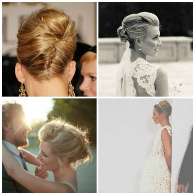 Coiffure Mariage Chignon Banane Rock With A Love Like That Blog
