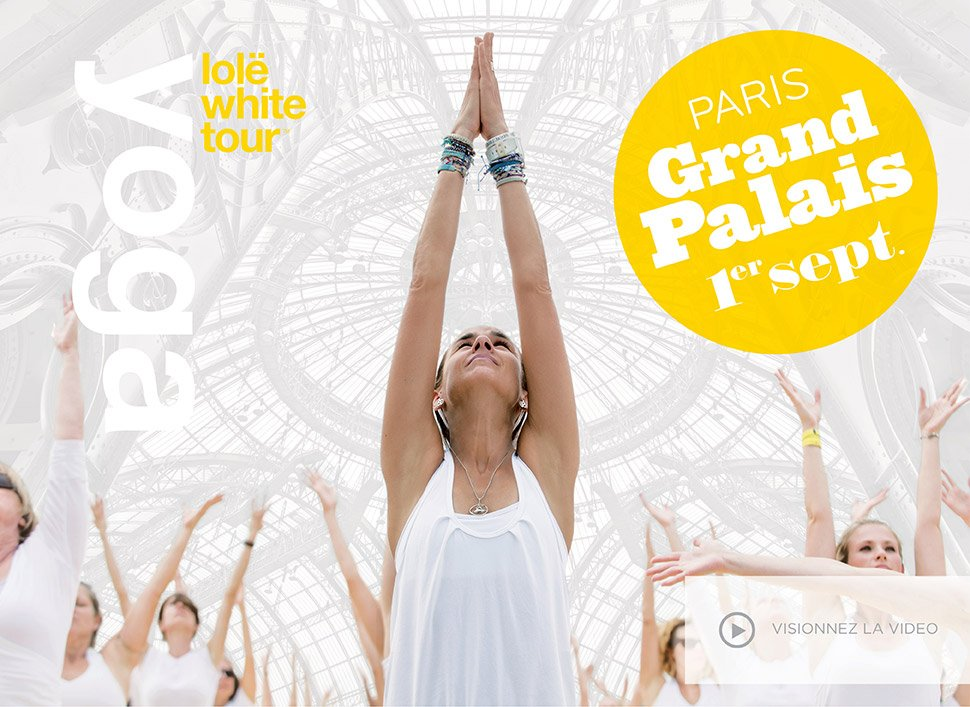 lole white tour paris grand palais 2013